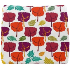 Tree Pattern Background Seat Cushion by Jojostore