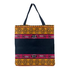 Pattern Ornaments Africa Safari Summer Graphic Grocery Tote Bag