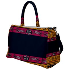 Pattern Ornaments Africa Safari Summer Graphic Duffel Travel Bag