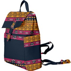 Pattern Ornaments Africa Safari Summer Graphic Buckle Everyday Backpack