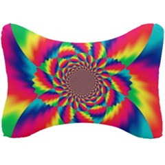 Colorful Psychedelic Art Background Seat Head Rest Cushion
