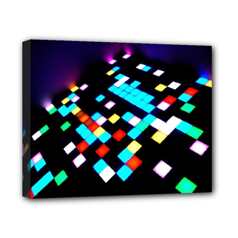 Dance Floor Canvas 10  X 8  (stretched) by Jojostore