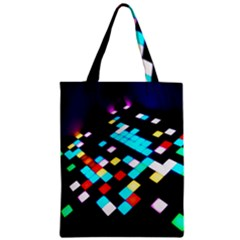 Dance Floor Zipper Classic Tote Bag by Jojostore