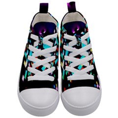 Dance Floor Kid s Mid Top Canvas Sneakers