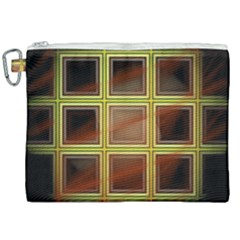Drawing Of A Color Fractal Window Canvas Cosmetic Bag (xxl) by Jojostore