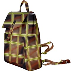 Drawing Of A Color Fractal Window Buckle Everyday Backpack