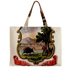 Historical Coat Of Arms Of Indiana Zipper Medium Tote Bag by abbeyz71
