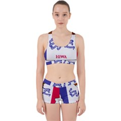 Flag Map Of Iowa Work It Out Gym Set
