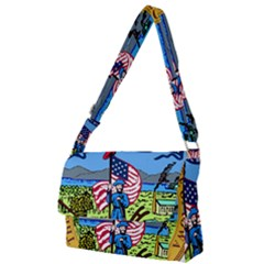 Great Seal Of Iowa Full Print Messenger Bag by abbeyz71