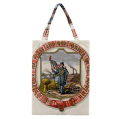 Historical Coat Of Arms Of Iowa Classic Tote Bag