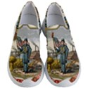 Historical Coat of Arms of Iowa Women s Lightweight Slip Ons View1