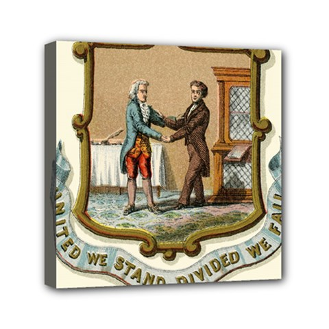 Historical Coat Of Arms Of Kentucky Mini Canvas 6  X 6  (stretched)