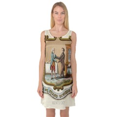 Historical Coat Of Arms Of Kentucky Sleeveless Satin Nightdress by abbeyz71