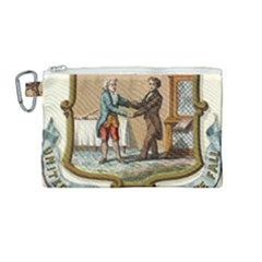 Historical Coat Of Arms Of Kentucky Canvas Cosmetic Bag (medium) by abbeyz71