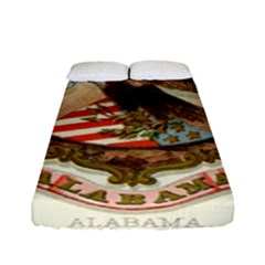Historical Coat Of Arms Of Alabama Fitted Sheet (full/ Double Size) by abbeyz71