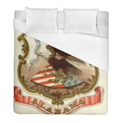 Historical Coat Of Arms Of Alabama Duvet Cover (full/ Double Size) by abbeyz71