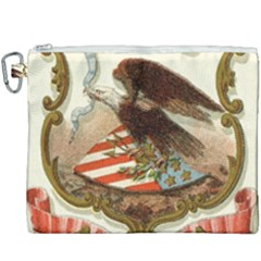 Historical Coat Of Arms Of Alabama Canvas Cosmetic Bag (xxxl)