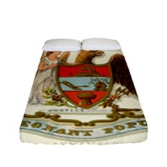 Historical Coat Of Arms Of Arkansas Fitted Sheet (full/ Double Size) by abbeyz71