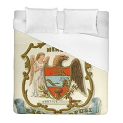 Historical Coat Of Arms Of Arkansas Duvet Cover (full/ Double Size) by abbeyz71