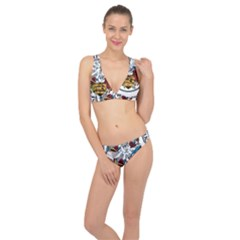 State Seal Of Arkansas Classic Banded Bikini Set