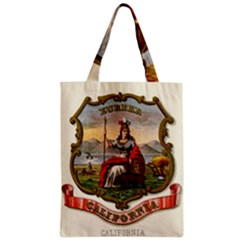 Historical Coat Of Arms Of California Zipper Classic Tote Bag by abbeyz71