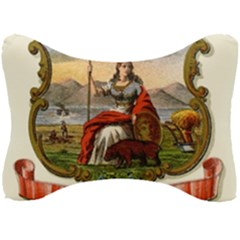 Historical Coat Of Arms Of California Seat Head Rest Cushion by abbeyz71