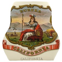Historical Coat Of Arms Of California Car Seat Back Cushion  by abbeyz71