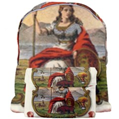 Historical Coat Of Arms Of California Giant Full Print Backpack