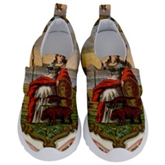 Historical Coat Of Arms Of California Velcro Strap Shoes by abbeyz71