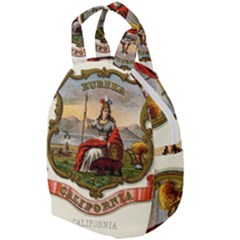Historical Coat Of Arms Of California Travel Backpacks by abbeyz71