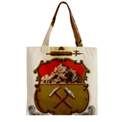 Historical Coat Of Arms Of Colorado Zipper Grocery Tote Bag by abbeyz71
