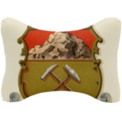 Historical Coat Of Arms Of Colorado Seat Head Rest Cushion by abbeyz71