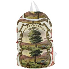 Historical Coat Of Arms Of Dakota Territory Foldable Lightweight Backpack by abbeyz71