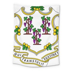 Coat Of Arms Of Connecticut Medium Tapestry by abbeyz71