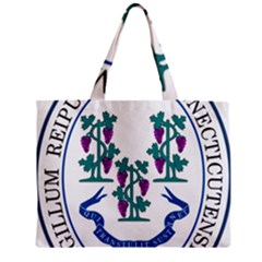 Great Seal Of Connecticut Zipper Mini Tote Bag by abbeyz71