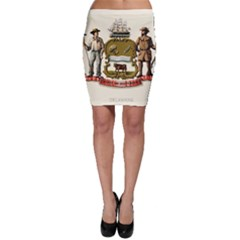 Historical Coat Of Arms Of Delaware Bodycon Skirt