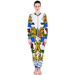 Delaware Coat Of Arms Onepiece Jumpsuit (ladies)  by abbeyz71
