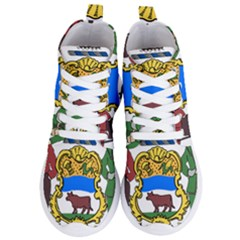 Delaware Coat Of Arms Women s Lightweight High Top Sneakers by abbeyz71