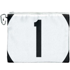Delaware Route 1 Marker Canvas Cosmetic Bag (xxxl) by abbeyz71