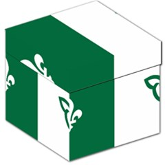 Franco Ontarian Flag Storage Stool 12   by abbeyz71
