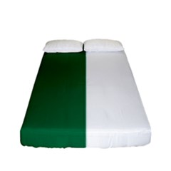 Franco Ontarian Flag Fitted Sheet (full/ Double Size) by abbeyz71