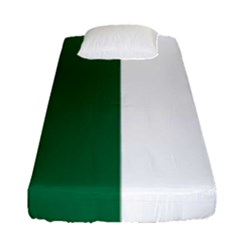 Franco Ontarian Flag Fitted Sheet (single Size) by abbeyz71