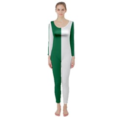 Franco Ontarian Flag Long Sleeve Catsuit by abbeyz71