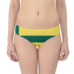 Flag Of The Fransaskois Hipster Bikini Bottoms