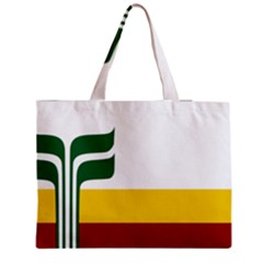 Flag Of Franco Manitobans Zipper Medium Tote Bag by abbeyz71