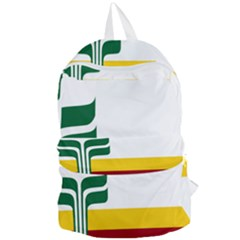 Flag Of Franco Manitobans Foldable Lightweight Backpack by abbeyz71