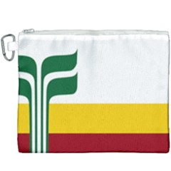 Flag Of Franco Manitobans Canvas Cosmetic Bag (xxxl) by abbeyz71