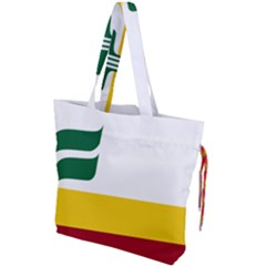 Flag Of Franco Manitobans Drawstring Tote Bag