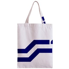 Flag Of The Franco Columbians Zipper Classic Tote Bag by abbeyz71