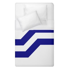 Flag Of The Franco Columbians Duvet Cover (single Size)